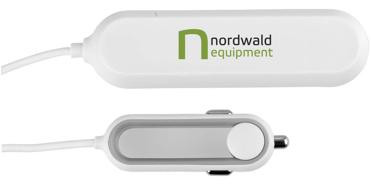 4-porttinen USB autolaturi QC 3.0