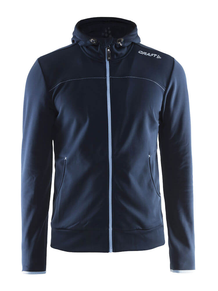 Craft Leisure Full Zip Miesten tekninen huppari