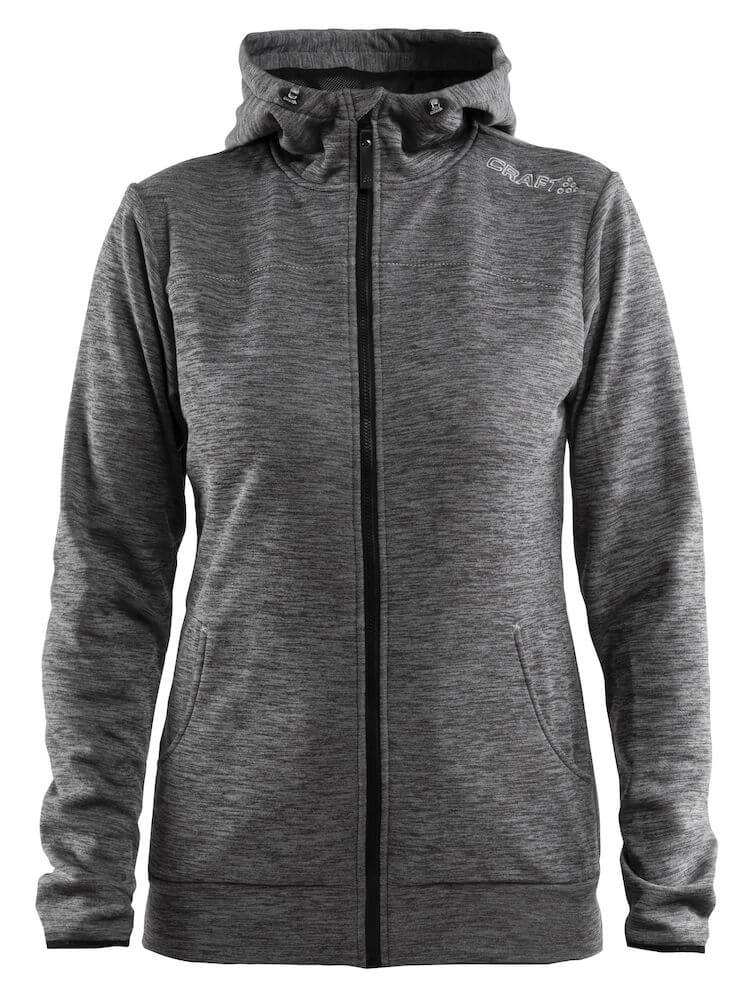 Craft Leisure Full Zip Hood W Naisten tekninen huppari