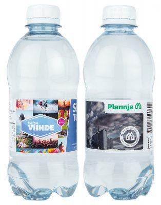 Kotimainen Vesipullo Omalla Etiketillä